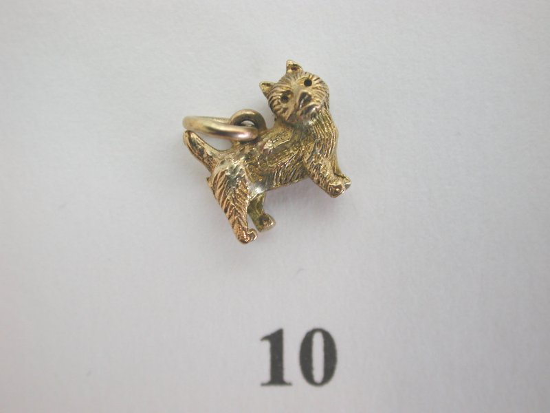 Selection-of-Lovely-Unusual-Rare-Interesting-Vintage-9ct-Gold-Charms